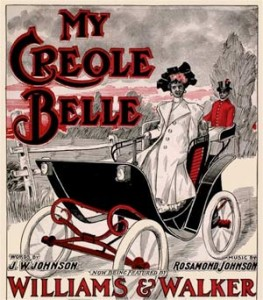 Creole Belle sheet music cover
