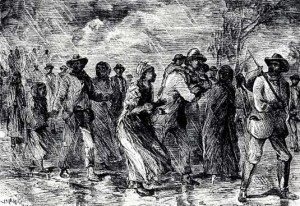 Underground Railroad Engraving