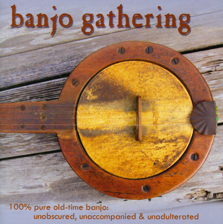 cd cover: banjo gathering