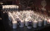San Xavier del Bac candles