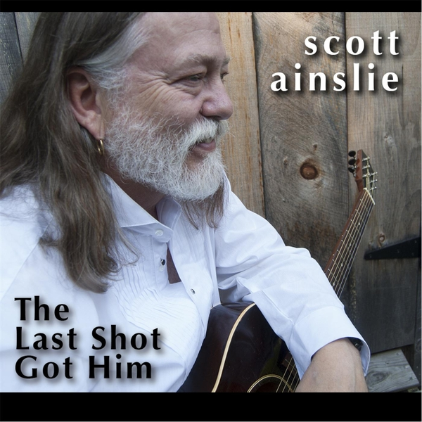 cd cover: The Last Shot Got Him