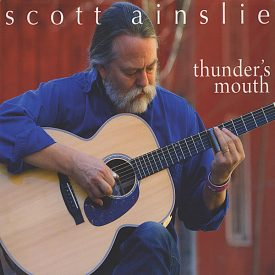 cd cover: thunders mouth by Scott Ainslie