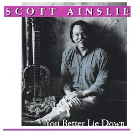 cd cover: you better lie down by scott ainslie